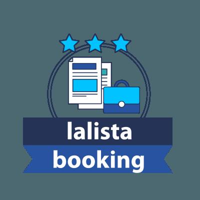lalista booking διαχείρηση ραντεβού