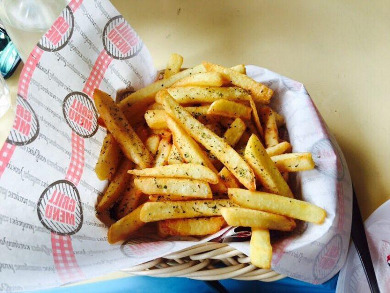 Pita Park πατάτες!