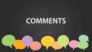 Σχόλια σε άρθρα και posts.