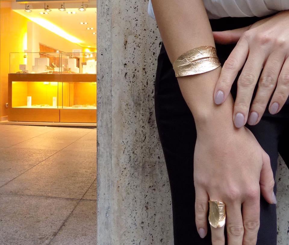 Σετ βραχιόλι δαχτυλίδι