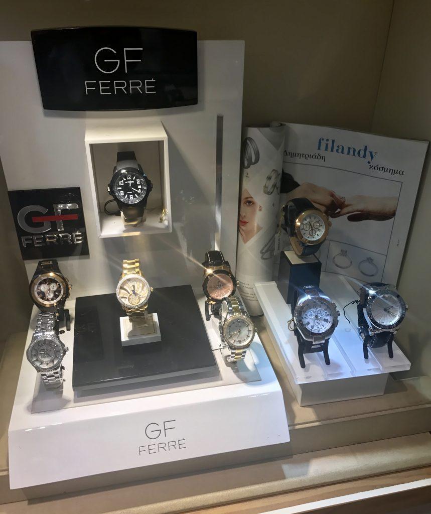 Ρολόγια GF Ferre