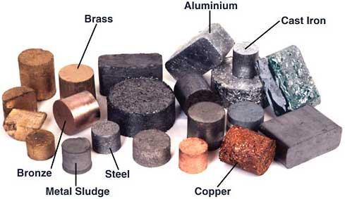 Ανακύκλωση μετάλλου, χαλκού, σιδήρου.