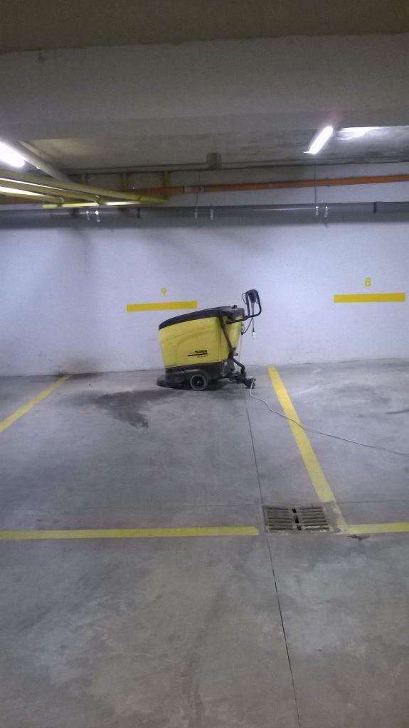 Καθαρισμός parking